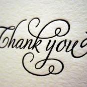 Saber agradecer