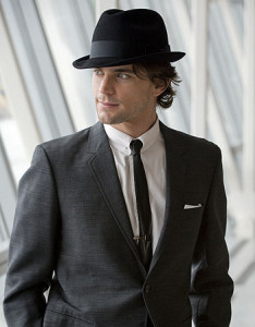 "WHITE COLLAR -- ""Pilot"" -- Pictured: Matthew Bomer as Neal Caffrey -- USA Network Photo: David Giesbrecht"